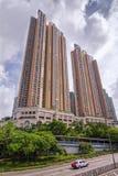 Die Einsiedlerei - Luxusunterkunftskomplex in der olympischen Stadt drei in Hong Kong Stockfotografie