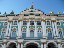 Die Einsiedlerei u. das x28; Winter Palace& x29; St Petersburg, Russland Lizenzfreie Stockfotos