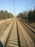 Die Eisenbahn Stockbild
