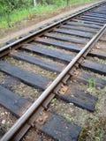 Die Eisenbahnlinie Lizenzfreies Stockfoto