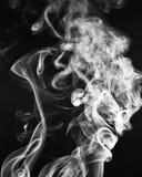 Die eleganten Muster und die Formen des Rauches Stockfotos