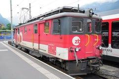 Die elektrische Lokomotive Lizenzfreie Stockfotos