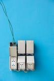 Die elektrischen Schalter Lizenzfreie Stockfotografie