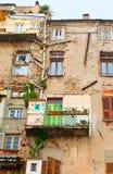 Die Elendsviertel von Bastia Lizenzfreies Stockfoto