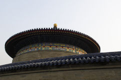 Die eligious Gebäude Peking China Tempels Himmelstempels Tiantan Daoist Stockfotos
