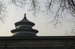 Die eligious Gebäude Peking China Tempels Himmelstempels Tiantan Daoist Lizenzfreie Stockbilder