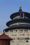Die eligious Gebäude Peking China Tempels Himmelstempels Tiantan Daoist Stockfotografie