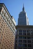 Die Empire State Building. stockfotos