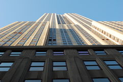 Die Empire State Building Lizenzfreie Stockfotos