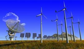 Die Energie der Natur. lizenzfreies stockbild