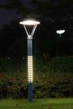 Die energiesparende Straßenbeleuchtung hergestellt durch LED Stockbild