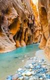 Die Engen, Zion National-Park Lizenzfreies Stockfoto