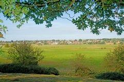 Die englische Landschaft Stockfoto