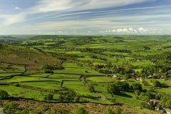 Die englische Landschaft Lizenzfreie Stockfotografie