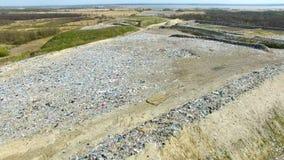 Die enorme Müllkippe stock footage