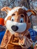 Die Entertainer am Karnevalsfeiertag lizenzfreies stockbild