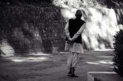 Die Entmonetisierung leiten in Indien ab stockfoto
