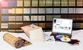 Die Entwicklung von Büchern lizenzfreie stockfotografie