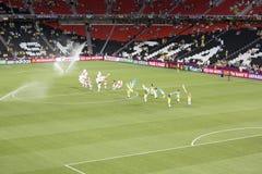Die Eröffnungsfeier von Euro 2012 in Donetsk lizenzfreie stockfotografie