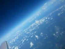 Die Erde von einer Fläche Lizenzfreies Stockfoto