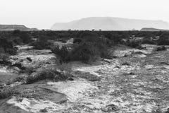 Die Erde war formlos und leer lizenzfreie stockfotografie