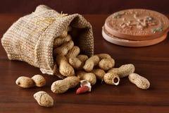 Die Erdnuss Stockbild