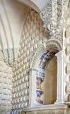Die erhabene Kunst des Steins von Lecce Stockfotos