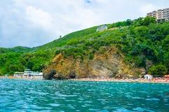 Die Erholungsorte von Montenegro Stockfotografie