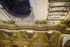 Die erstaunliche Kirche von St. Andreas in Rom Italien Lizenzfreie Stockfotos