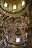 Die erstaunliche Kirche von St. Andreas in Rom Italien Stockbilder