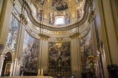 Die erstaunliche Kirche von St. Andreas in Rom Italien Lizenzfreies Stockbild