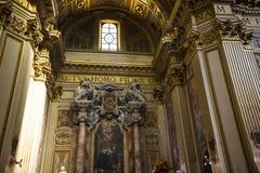 Die erstaunliche Kirche von St. Andreas in Rom Italien Lizenzfreie Stockbilder