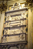 Die erstaunliche Kirche von St. Andreas in Rom Italien Lizenzfreie Stockfotografie