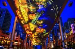Die erstaunlichen Einkaufszentren von Peking, China lizenzfreie stockfotografie