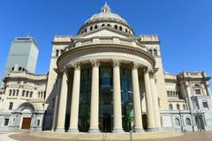 Die erste Kirche von Christus-Wissenschaftler, Boston, USA Stockbild
