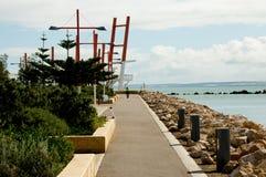 Die Esplanade stockbild