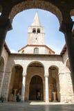 Die Euphrasian-Basilika in Porec Stockbild