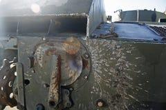 Die Explosionsmilitärmaschine von Russland Lizenzfreie Stockbilder