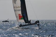Die extreme segelnde Türkei 2015 lizenzfreies stockbild