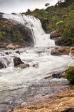 Die Fälle des Bäckers Ein Wasserfall in Sri Lanka Lizenzfreie Stockfotos