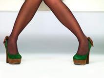 Die Füße der Frauen Lizenzfreies Stockbild