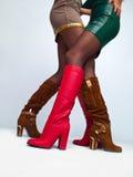Die Füße der Frauen Stockfotos