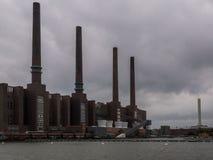 Die Fabrik in einer Stadt Wolfsburg, Deutschland Lizenzfreie Stockfotografie