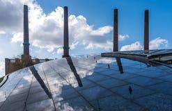 Die Fabrik in einer Stadt Wolfsburg, Deutschland Stockfoto