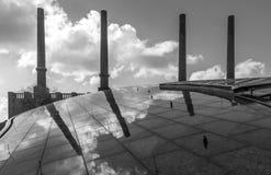 Die Fabrik in einer Stadt Wolfsburg, Deutschland Stockfotos