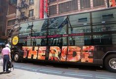 Die Fahrt NYC Stockfotos