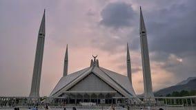 Die faisal Moschee stockbilder
