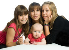 Die Familie Lizenzfreies Stockbild
