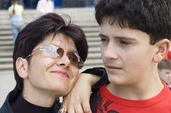 Die Familie. Lizenzfreie Stockfotos