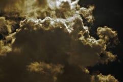 Die Farbe der Wolke Lizenzfreie Stockfotografie